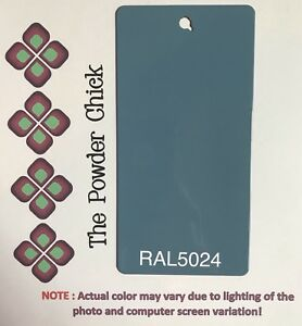 Ral 5024 49 44660 Pastel Blue Powder Coating Paint 5lb Bag New