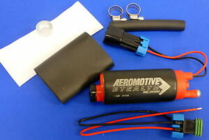 Aeromotive 11569 340 Lph Stealth In Tank E85 Fuel Pump Chevy Pontiac Center Inle