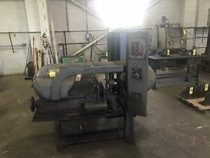 Wells Model 1270 Horizontal Band Saw