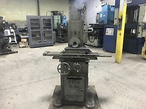 Reid Precision Surface Grinder No 2 3 6 X 18