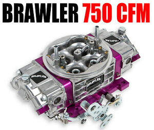 Brawler Quick Fuel Br 67200 750 Cfm Performance Race Carburetor Double Pumper