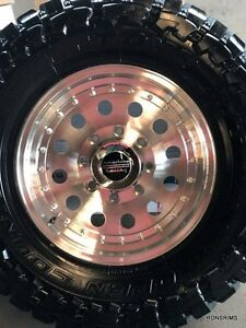 16x8 Outlaw 2 Wheel American Racing 8 Lug Ford Chevy Dodge 8 On 6 5