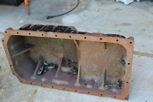 Komatsu Wb140t Backhoe Engine Parts S4d106 1fa Oil Pan