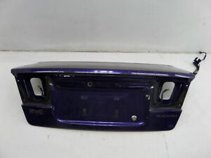 Subaru Legacy B4 Rhd Jdm Trunk Lid Hatch Purple Be 99 04 Oem Can Ship