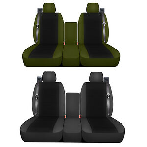 2003 To 2007 Chevrolet Silverado 40 20 40 Seat Covers Int Seat Belts 22 Options