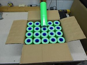 1 Case Of Fl green Labels For Motex 5500 200 Rolls