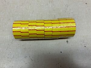 8 000 Tags Labels Refill For Motex Mx 5500 1 Line Price Gun White sell By Labe