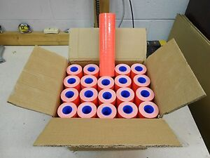 1 Case Of Fl red Labels For Motex 5500 200 Rolls