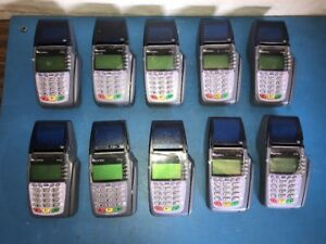 Lot Of 10 Verifone Vx510 Omni 5100 Credit Card Terminal System
