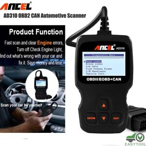 Universal Obd2 Eobd Automotive Scanner Car Diagnostic Scan Tool Auto Code Reader
