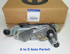 New 2007 2017 Jeep Wrangler Rear Liftgate Wiper Motor Assembly Oem