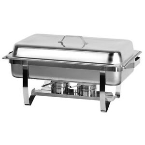 Atosa At761l63 1 Full Size Economic Chafer W Stainless Steel Pan And Lift up Lid