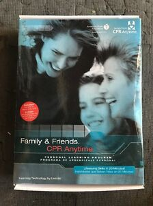 Family And Friends Cpr Anytime Complete Training Kit American Heart Association