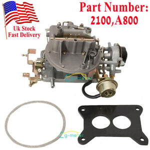 2 Bbl Carburetor Carb Engine 2100 A800 For Ford Comet F100 F250 F350 Mustang New