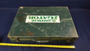 Greenlee Gator Tool Metal Case Only For The Esc85 Cable Cutter
