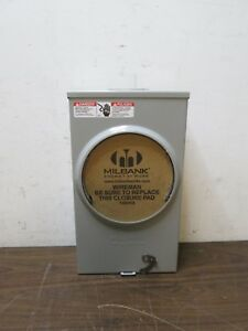 Milbank Type 3r Enclosure Meter Socket Free Shipping