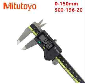 New Mitutoyo Absolute 6 Digital Caliper Brand 500 196 20 Box Top Quality