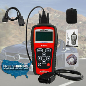 Elm327 Kw808 Obd2 Obdii Eobd Scanner Car Code Reader Tester Diagnostic Usa Se