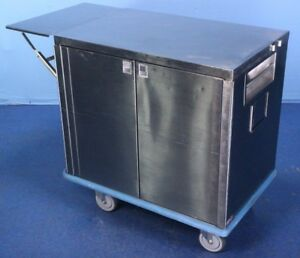 Stainless Steel Case Cart Medical Cart With Warranty