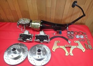 1949 1954 Chevrolet Car Belair Front Power Disc Brake Conversion