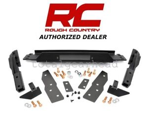 1999 2004 Jeep Wj Grand Cherokee Rcx Factory Bumper Winch Mounting Plate 1064