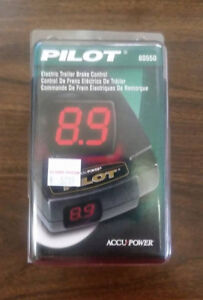 New 80550 Tekonsha Pilot Electric Brake Control For Up To 3 Axles