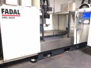Fadal 6030 1 Yr Warranty On Parts And Labor