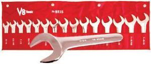 V8 Tools 9515 15pc Metric Service Wrench Set