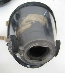 1 Scott Av3000 Black Nosecup Kevlar Headnet Scba Mask Medium