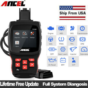 Obd2 Diagnostic Scan Foxwell Nt630 Pro Auto Abs Airbag Srs Reset Scanner Tools