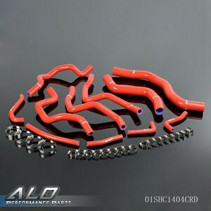Silicone Radiator Hose Kit For Mitsubishi Lancer Evo 7 8 Ct9a 4g63t 2001 2005