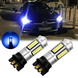 Error Free Ice Blue Pw24w Projector Led Light Bulb For Bmw F30 320 328i 335i Drl