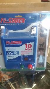 Fi shock Electric Fence Controller 10 Miles new