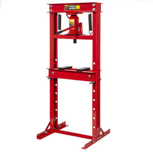 12 Ton H frame Air Hydraulic Floor Press Shop Press Garage Heavy Duty Machinery