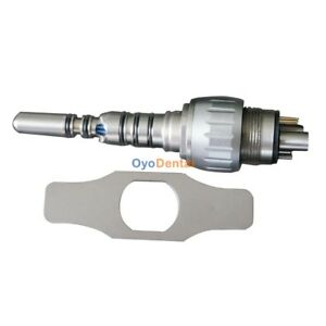 Being Lotus Fiber Optic Quick Coupling Coupler Connector Compatible With Kavo Ce