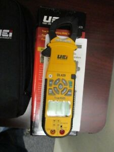 Uei True Rms Wireless Hvac Clamp Meter Dl429