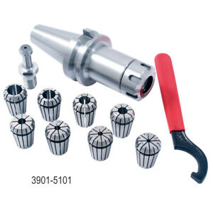 Bt 40 Er 25 10 Piece Collet Chuck Set 3901 5101