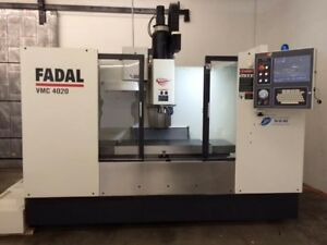 Fadal 4020 1yr Warranty On Parts And Labor