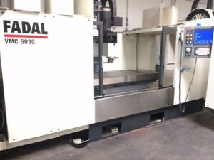 Fadal 6030 1yr Warranty On Parts And Labor