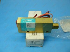 Gems 26918 Water Flow Switch 1 4 Npt Brass 1 Gpm Spdt Piston Type New