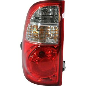 Taillight Taillamp Rear Brake Light Driver Side Left Lh For 05 06 Tundra