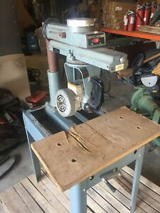 Delta 10 12 Professional Radial Arm Saw missing Parts