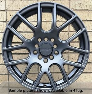 4 New 15 Wheels Rim For Honda Accord Prelude Hyundai Accent Elantra Sonata 6507
