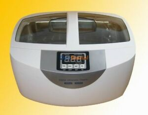 2 5l Brand Ultrasonic Cleaner Heater For Dental Jewelry Personal Care Cd 4820