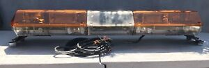 Code 3 Mx 7000 Amber 47 Light Bar Clean Tested Working 2