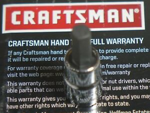 Brand New Craftsman 1 4 Or 3 8 Drive Sae Hex Allen Bits Choose Any Size
