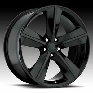 1 New 20 Replacement Wheel Rim For Dodge Challenger Charger Magnum Srt 3812
