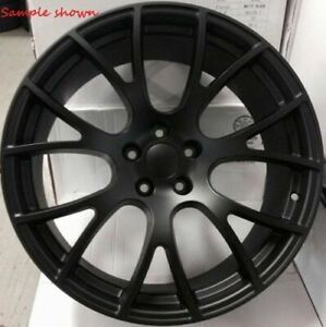 1 New 20 Replacement Wheel Rim For Dodge Challenger Hellcat Charger Magnum 3821