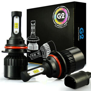 Jdm Astar G2 8000lm 9004 hb1 Led Headlight High Low Dual Beam Kit Bulbs White 6k