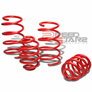 Ion 2 0 Lsj Red Race Suspension Coil Lowering Springs 2 Front 1 75 Rear Drop
